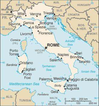 Goobix Soccer Italy Map