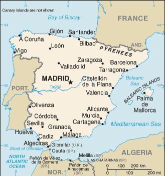 Goobix Soccer Spain Map